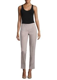 Lafayette 148 New York Bleecker Side-Zip Slim Pants