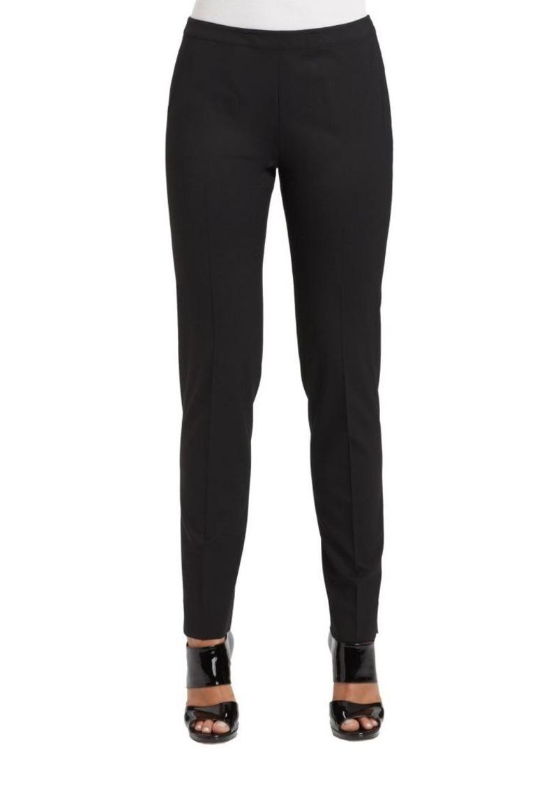 Lafayette 148 Italian Stretch-Wool Bleecker Pants