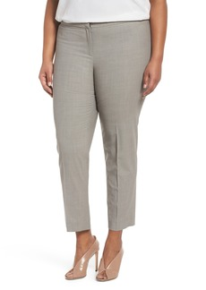Lafayette 148 New York Bleecker Stretch Wool Suit Pants (Plus Size)