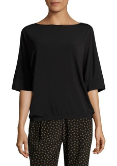 Lafayette 148 New York Boat Neck Relaxed Top
