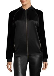 Lafayette 148 New York Brea Velvet Combo Jacket