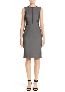 Lafayette 148 New York Bree Check Sheath Dress