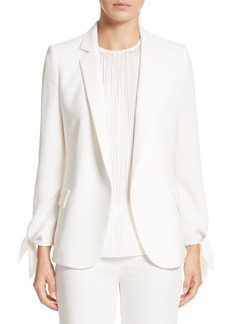 Lafayette 148 New York Bria Finesse Crepe Jacket