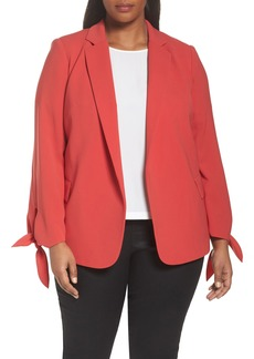 Lafayette 148 New York Bria Finesse Crepe Jacket (Plus Size)
