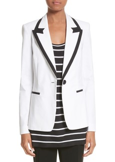 Lafayette 148 New York Briley Cotton Blend Blazer