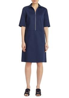 Lafayette 148 New York Brinley Zip Placket Dress