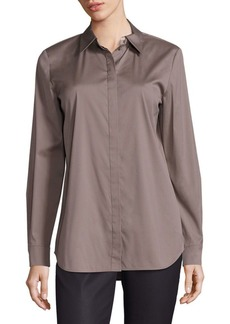 Lafayette 148 Brody Excursion Stretch Blouse