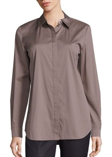 Lafayette 148 New York Brody Excursion Stretch Blouse