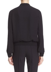 Lafayette 148 New York Bryant Double Georgette Bomber Jacket