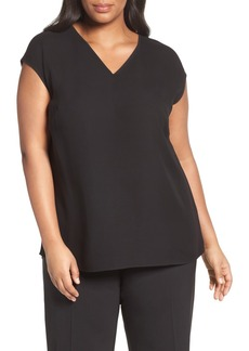 Lafayette 148 New York Bryson Silk Blouse (Plus Size)