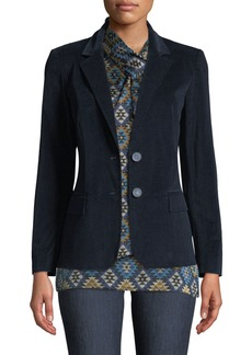 Lafayette 148 New York Camden Curated Corduroy Blazer Jacket