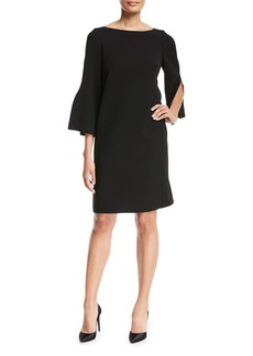Lafayette 148 New York Candace Finesse-Crepe Dress