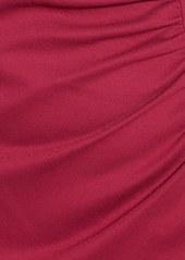 Lafayette 148 New York Cap Sleeve Shirred Side Dress (Regular & Petite)