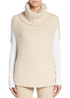 Lafayette 148 New York Cape-Sleeve Turtleneck Sweater