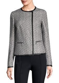 Caridee Weave Asymmetrical Jacket