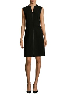 Lafayette 148 Carlina Wool Fit-&-Flare Dress