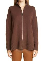 Lafayette 148 New York Cashmere Knit Jacket