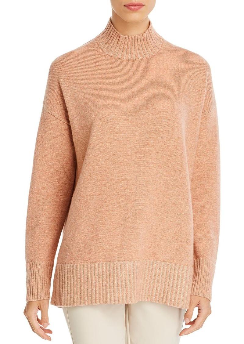 Lafayette 148 New York Cashmere Mock-Neck Sweater