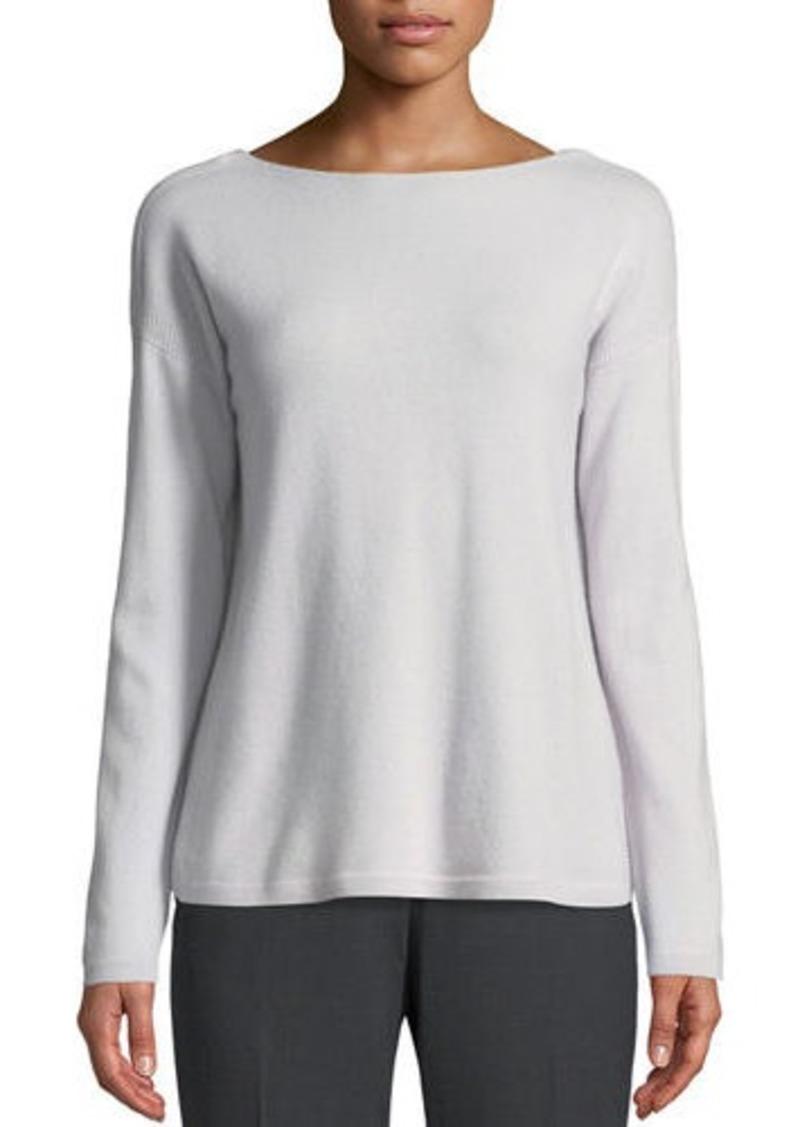 39a347cc254 Lafayette 148 Lafayette 148 New York Cashmere V-Back Sweater