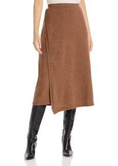 Lafayette 148 New York Cashmere Wrap Skirt