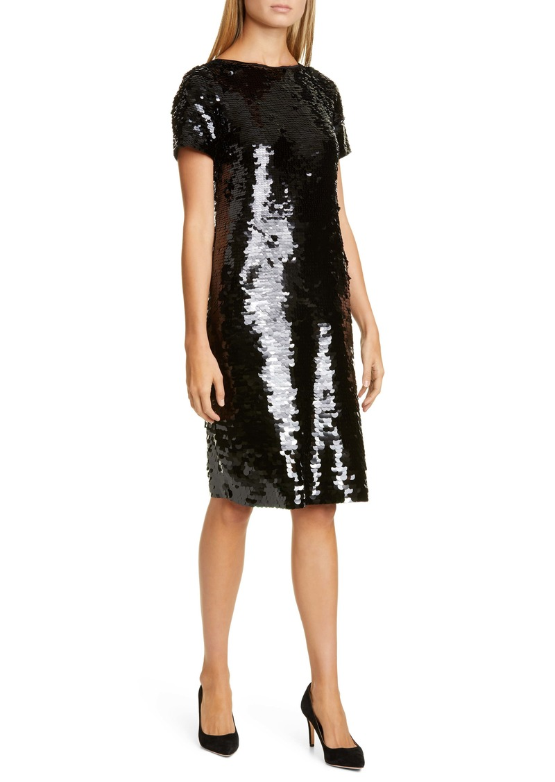 Lafayette 148 New York Cassia Sequin Cocktail Dress
