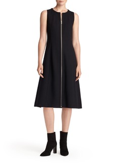 Lafayette 148 New York Celinda Nouveau Crepe Dress