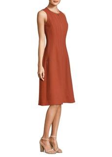 Lafayette 148 New York Celinda Zip Front Dress