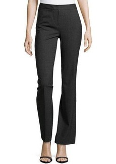 Lafayette 148 New York Center-Pleat Stretch Suiting Pants