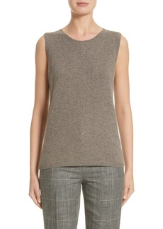 Lafayette 148 New York Chain Detail Cashmere Shell (Nordstrom Exclusive)