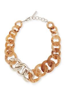 Lafayette 148 New York Chain-Link Statement Necklace