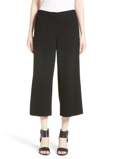 Lafayette 148 New York Charlton Crop Wide Leg Pants
