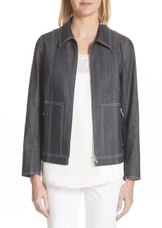 Lafayette 148 New York Chrissy Denim Jacket