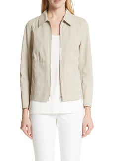 Lafayette 148 New York Chrissy Fundamental Bi-Stretch Jacket
