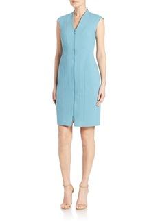 Lafayette 148 New York Christy Seamed Zip Dress