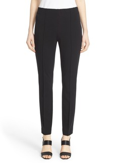 Lafayette 148 New York 'City' Pintuck Slim Pants