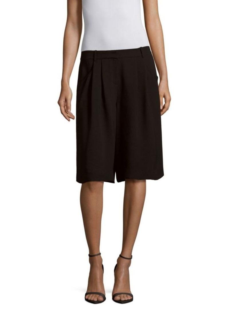 Lafayette 148 New York Clarkson Knee-Length Silk Pants