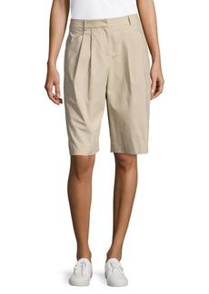 Lafayette 148 New York Clarkson Pleat-Front Shorts