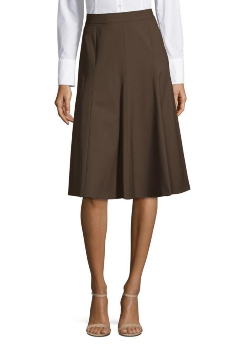 Lafayette 148 Classic A-Line Skirt