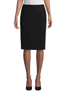 Lafayette 148 New York Classic Slim Skirt