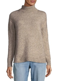 Lafayette 148 New York Classic Turtleneck Sweater