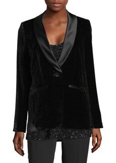 Classic Velvet Tuxedo Jacket
