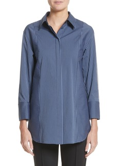 Lafayette 148 New York Claude Stripe Blouse