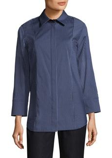 Lafayette 148 New York Claude Striped Shirt