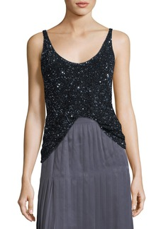 Lafayette 148 New York Clea Sequined Blouse