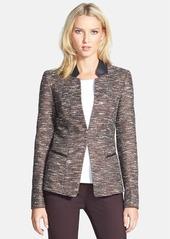 Lafayette 148 New York 'Clemente - Reed Cloth' Jacket (Regular & Petite)