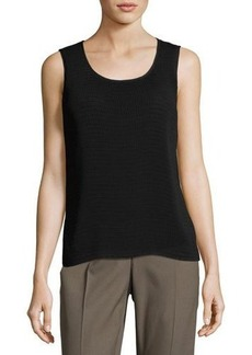 Lafayette 148 New York Cleo Sleeveless Pintuck Blouse