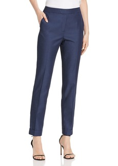 Lafayette 148 New York Sanctuary Cloth Clinton Cuffed Pants