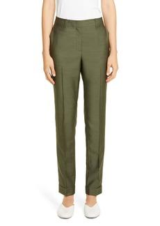 Lafayette 148 New York Clinton Pickstitch Cuff Pants
