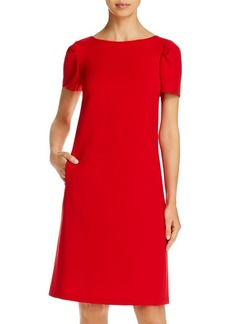Lafayette 148 New York Cohen Puff-Sleeve Shift Dress