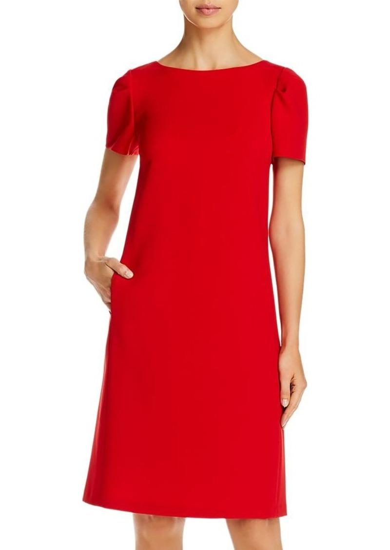 Lafayette 148 New York Cohen Puff-Sleeve Shift Dress